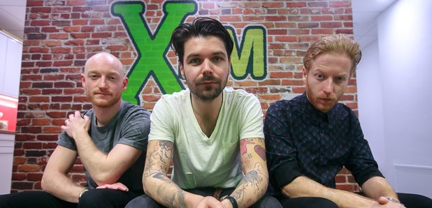 Biffy Clyro at XFM