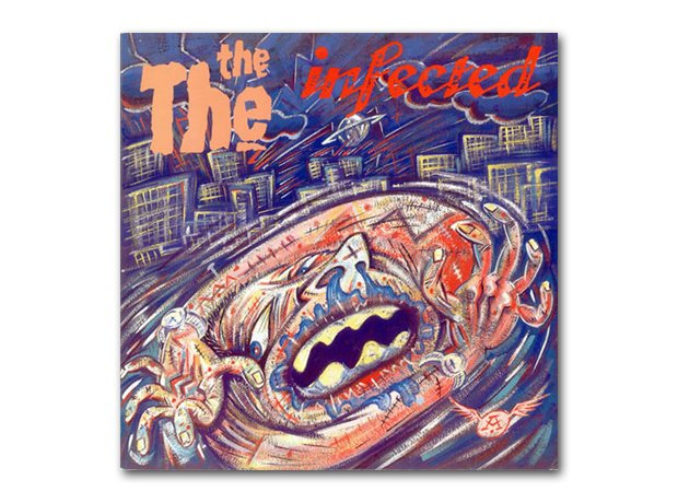 The The - Infected album cover