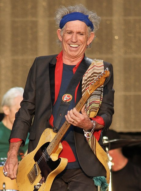 The Rolling Stones Keith Richards