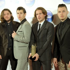 Arctic Monkeys Mercury Prize 2013