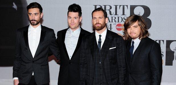 Bastille at the Brit Awards 2014