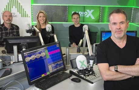 The Chris Moyles Show Radio X Breakfast Team