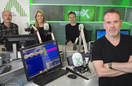 The Chris Moyles Show Radio X Breakfast Team
