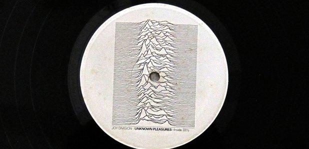 Joy Division Unknown Pleasures label