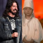 Dave Grohl girl from heart shaped box