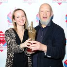 Emily Eavis and Michael Eavis at the NME Awards wi