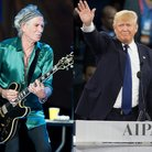 Keith Richards The Rolling Stones Donald Trump spl
