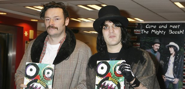 The Mighty Boosh stars Julian Barrett and Noel Fie