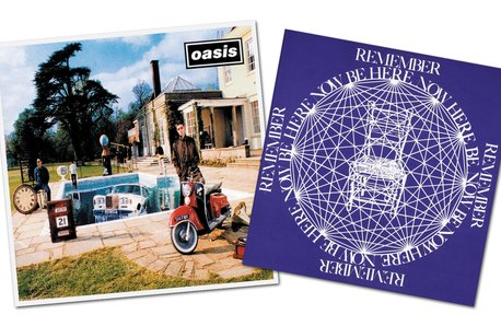 Oasis - Be Here Now Square
