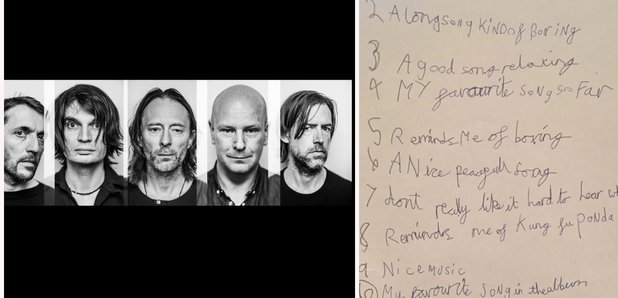 Radiohead press image with 8-year-old review