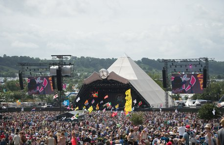 Glastonbury Festival stage