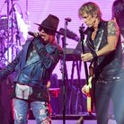Guns N' Roses Axl Rose and Duff McKagan in 2014