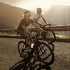 Cycling Up Mountain
