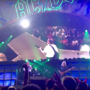 AC/DC and Axl Rose Greensboro gig 2016