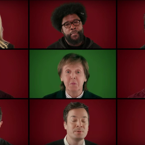 Paul McCartney and stars sing Wonderful Christmast