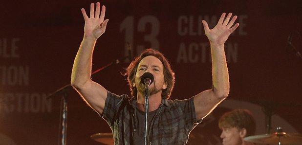 Eddie Vedder from Pearl Jam in 2015