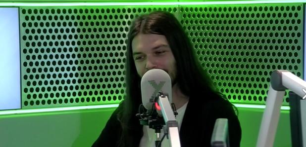 Biffy Clyro Simon Neil at Radio X on Gordon Smart