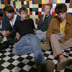 Blur in 1991 French TV interview