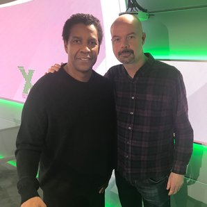 Dom and Denzel Washington Chris Moyles Show