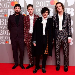The 1975 BRIT Awards red carpet