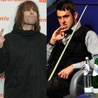 Liam Gallagher and Ronnie O' Sullivan