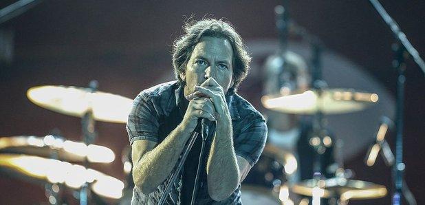 Eddie Vedder from Pearl Jam in 2017
