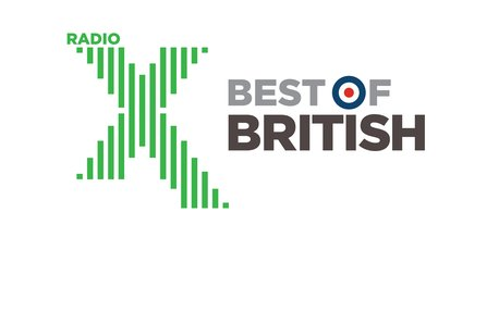 Radio X Best Of British Logo 2017