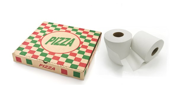 Pizza and Toilet Roll