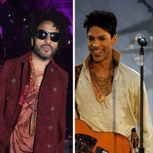 Lenny Kravitz and Prince