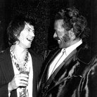 Keith Richards and Chuck Berry in 1980