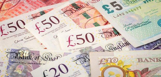 Money cash stock image
