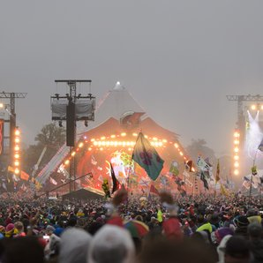 Glastonbury Pyramid Stage 2016