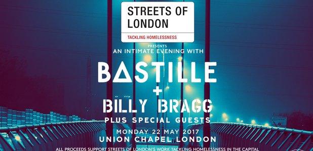 Streets Of London Bastille gig poster