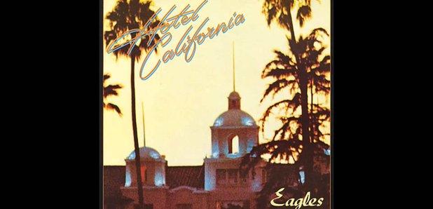 Hotel California Eagles album artwork
