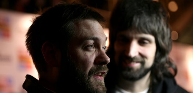 Tom Meighan and Serge Pizzorno Kasabian NME Awards
