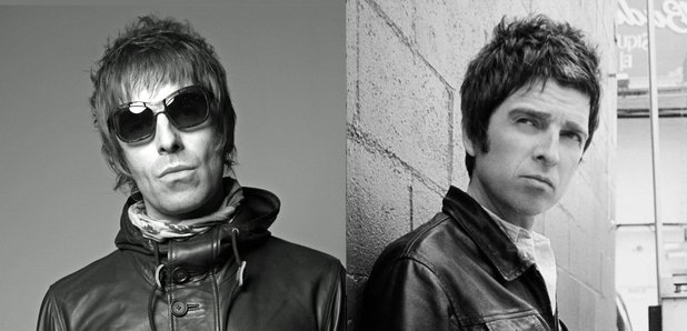 Liam Gallagher and Noel Gallagher