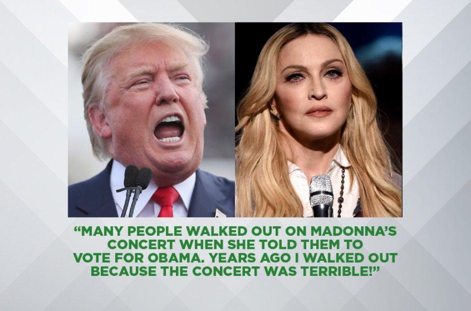 Donald Trump on Madonna