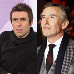Liam Gallagher and Steve Coogan