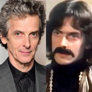 Peter Capaldi as George Harrison