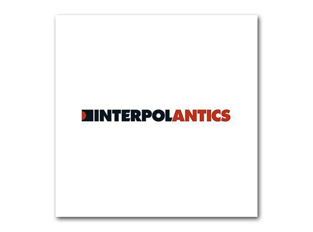 Interpol - Antics album cover